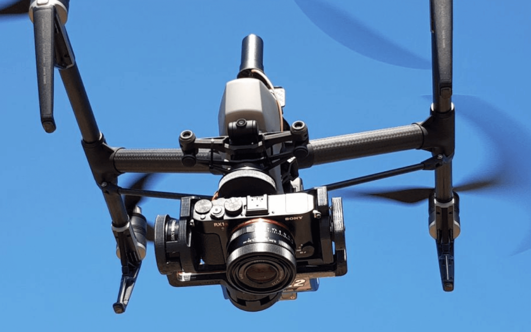SONY CAMERA PAYLOAD FOR DJI DRONES FROM KLAU GEO