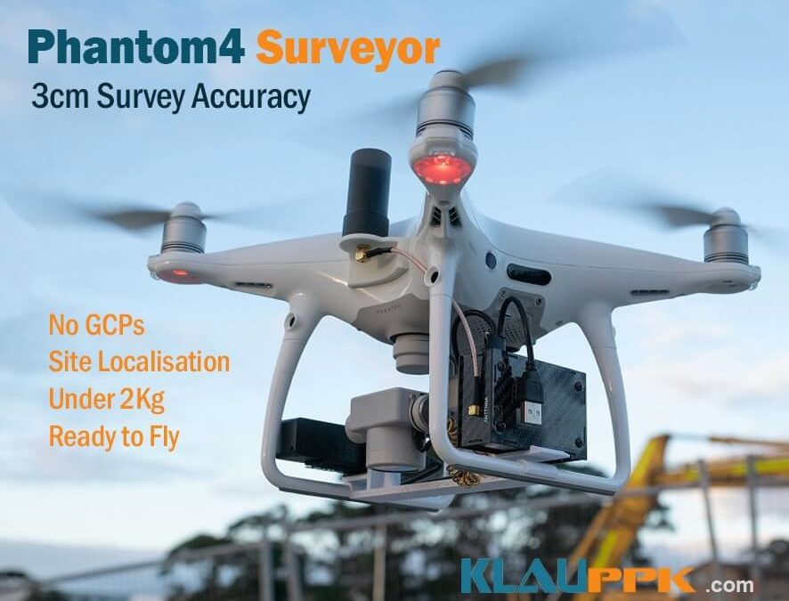 Klau Geomatics releases the 'DJI Phantom4Pro Surveyor' for accurate surveying and inspection without ground control points