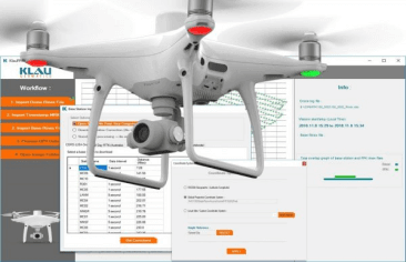 KlauPPK software for the Phantom4 RTK