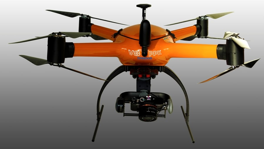 CONDOR V8-PPK – Mapping Drone with Integrated KlauPPK